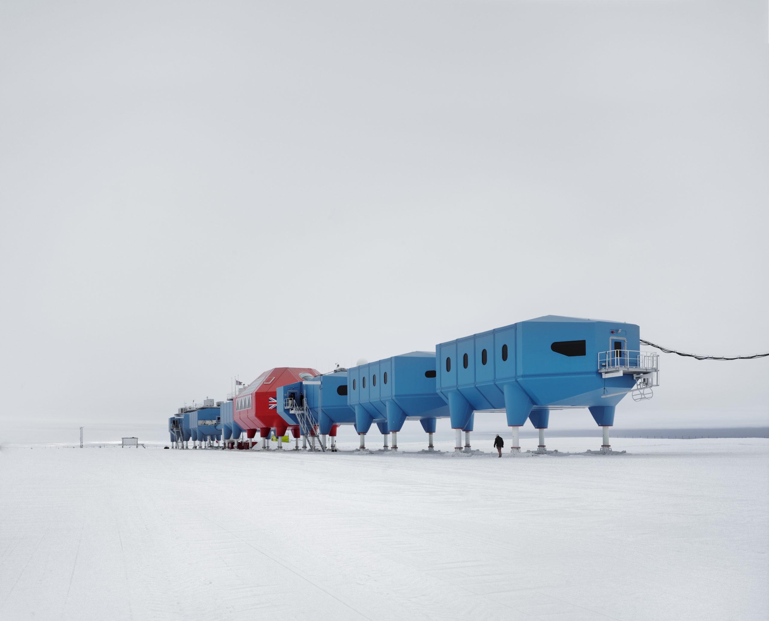 New British Antarctic Base Halley VI